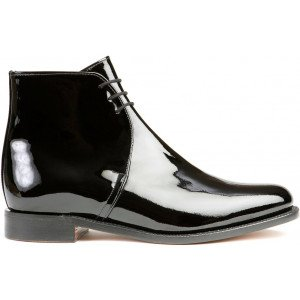 Sanders George in Black Patent Leather-6365