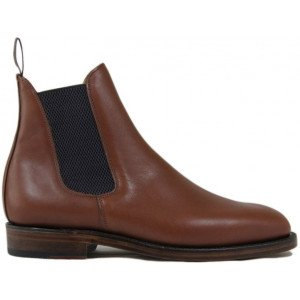 Sanders Thirsk in Brown Waxy Leather-8708