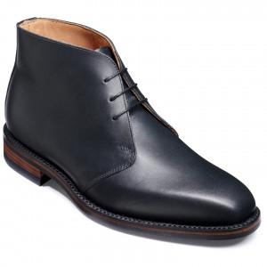 De Winter Warwick black with tan thru sole 2