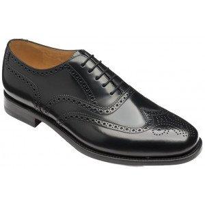 loake 202 shoes black 202b