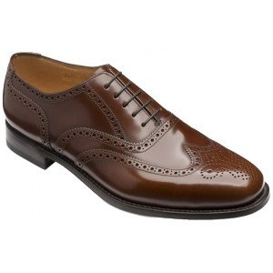 loake 202t brown shoes