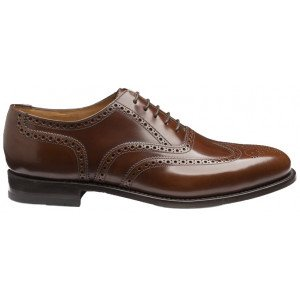 loake 202 shoes brown 202t