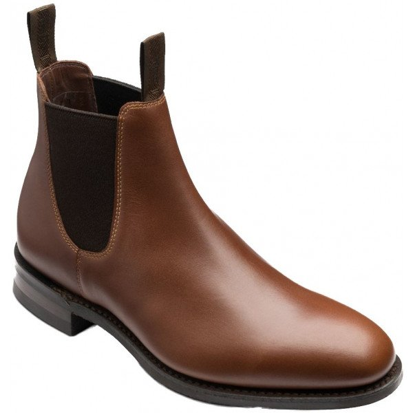 loake chatterley brown leather