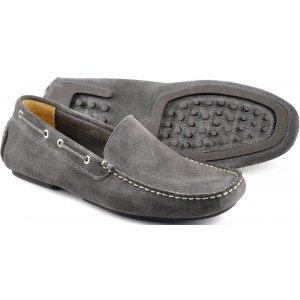 loake donington grey suede