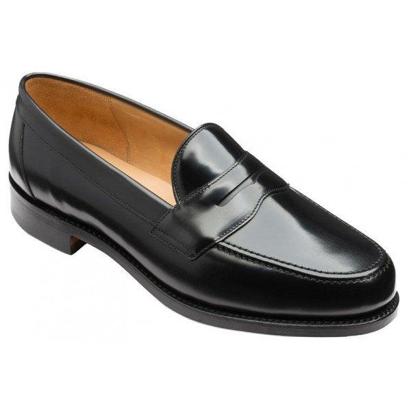 Loake Eton Loafer in Black-0