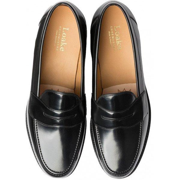 Loake Eton Loafer in Black-13802