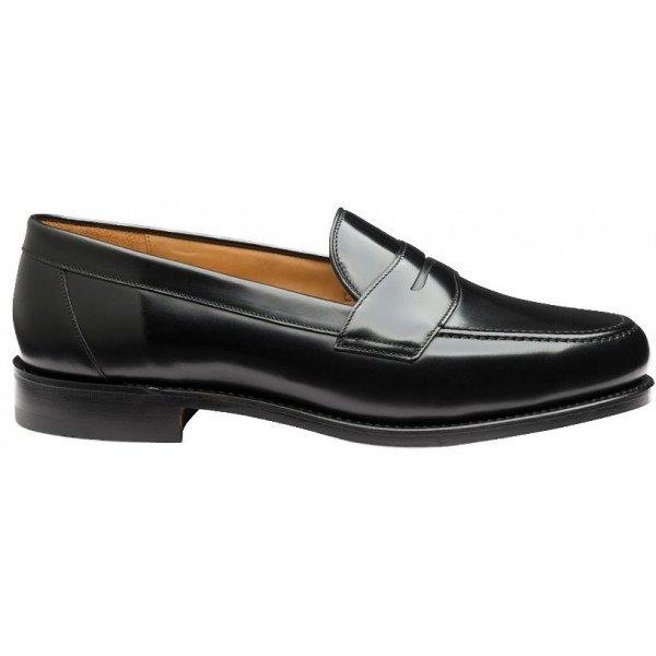 Loake Eton Loafer in Black-13800