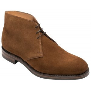 Loake Kempton in Brown Suede - Size 6.5 and 8 only-0