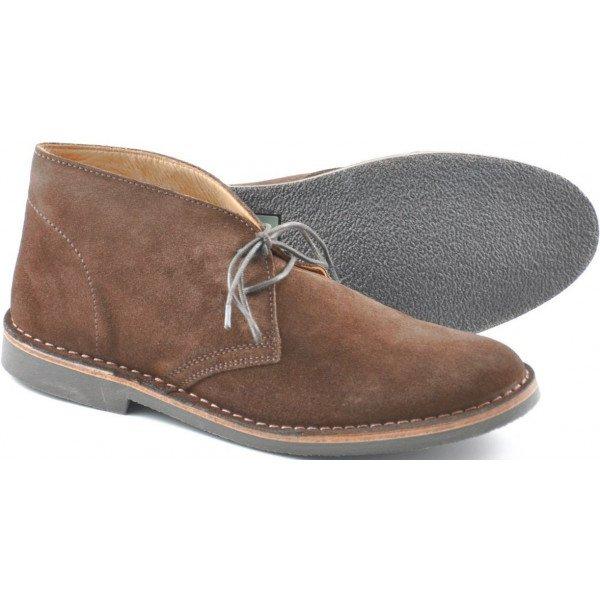 loake sahara brown suede boots