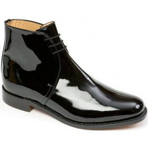 Sanders George in Black Patent Leather-0
