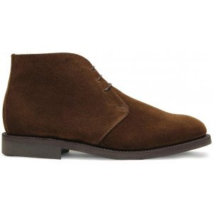 Sanders Holborn in Polo Snuff Suede-14053