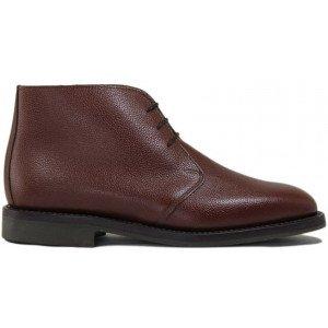 Sanders Holborn in Tan Grain Leather-8833