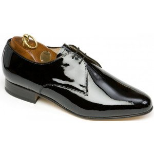 Sanders Ritz in Black Patent Leather-0