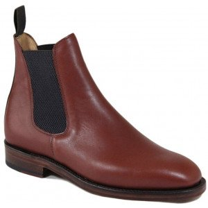 Sanders Thirsk in Brown Waxy Leather-0