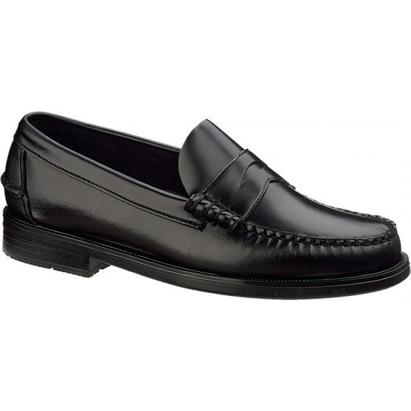 Sebago Grant in Black - Sizes: 6.5 and 12.5 only.-0
