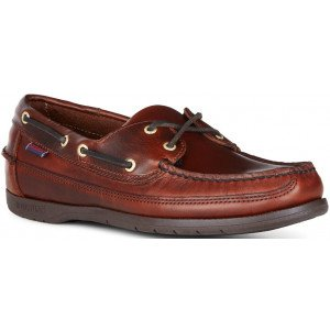 Sebago Schooner 7000GD0 925 in Brown Oiled Leather-0