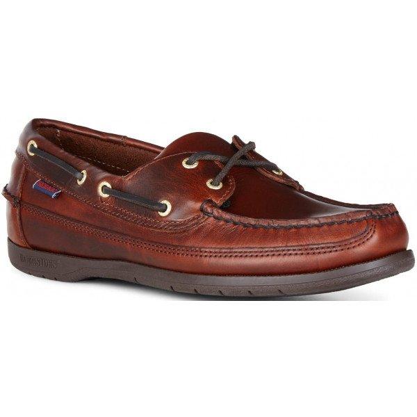 Sebago Schooner 7000GD0 925 in Brown Oiled Leather-0