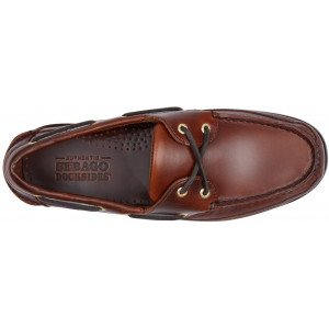Sebago Schooner 7000GD0 925 in Brown Oiled Leather-14562