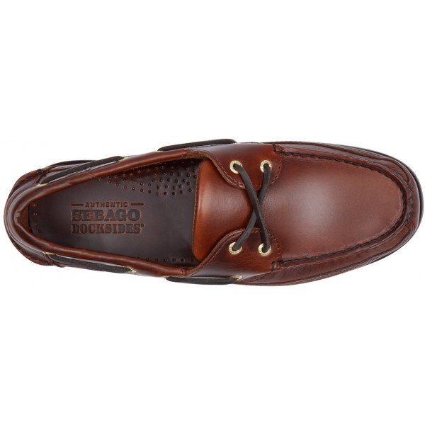 Sebago Schooner 7000GD0 925 in Brown Oiled Leather-14562
