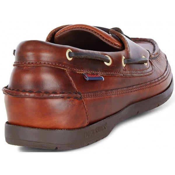 Sebago Schooner 7000GD0 925 in Brown Oiled Leather-14563
