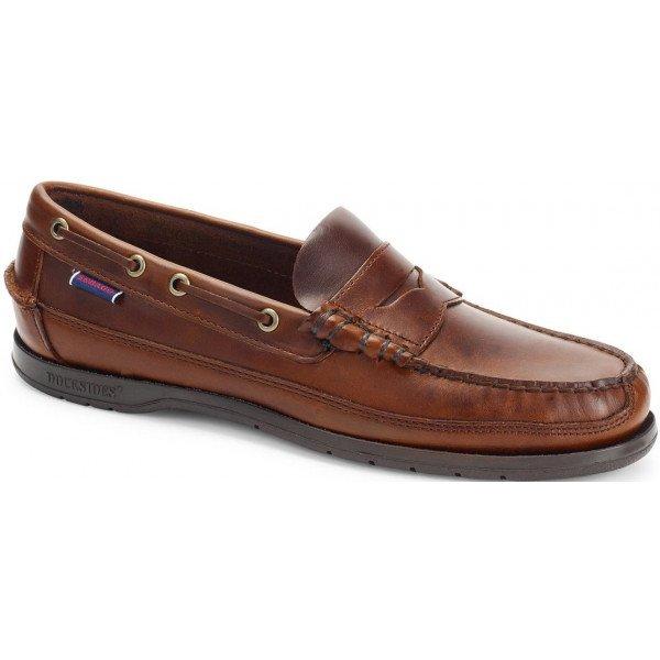 Sebago Sloop Brown Leather 70002B0 925-0
