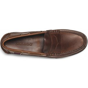 Sebago Sloop Brown Leather 70002B0 925-12203
