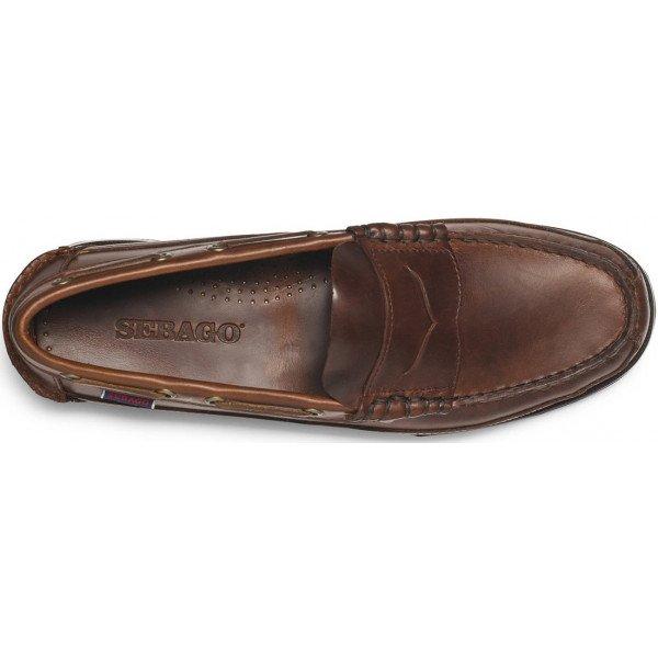 Sebago Sloop Brown Leather 70002B0 925-12203