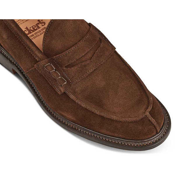 Trickers-James-chocolate-suede-above